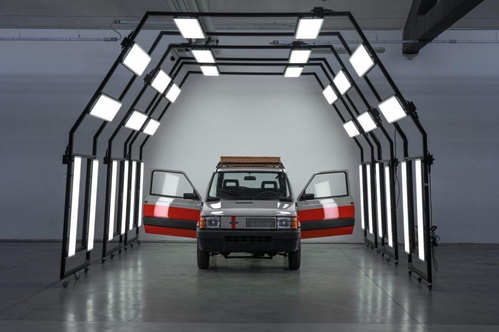 Pand'art Arthur Kar Garage Italia panda 4x4 portiere