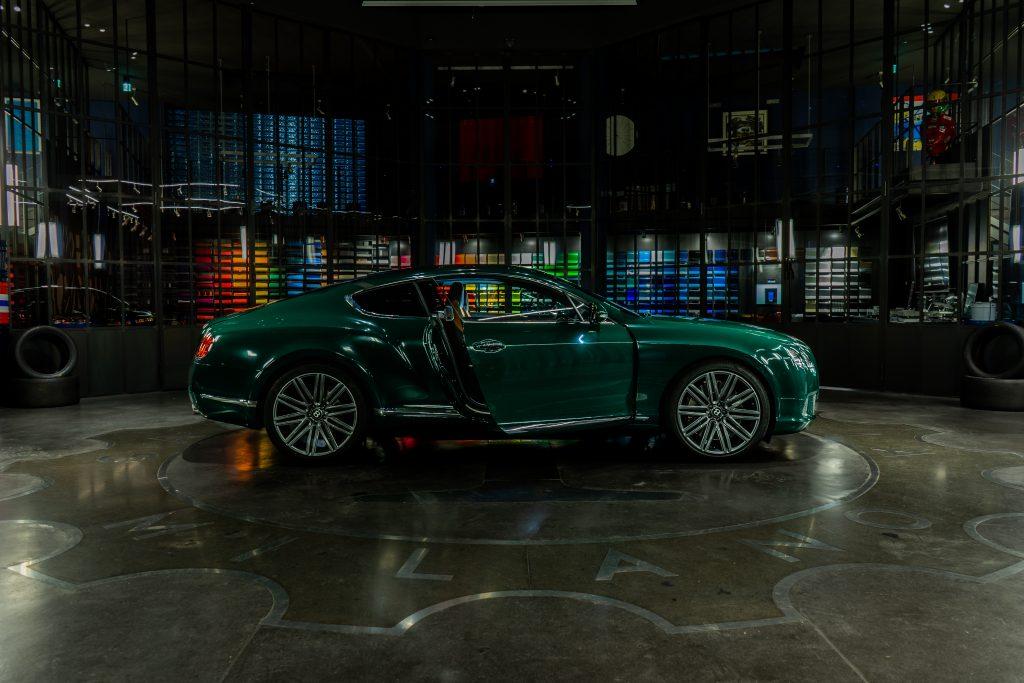 BENTLEY green Garage italia