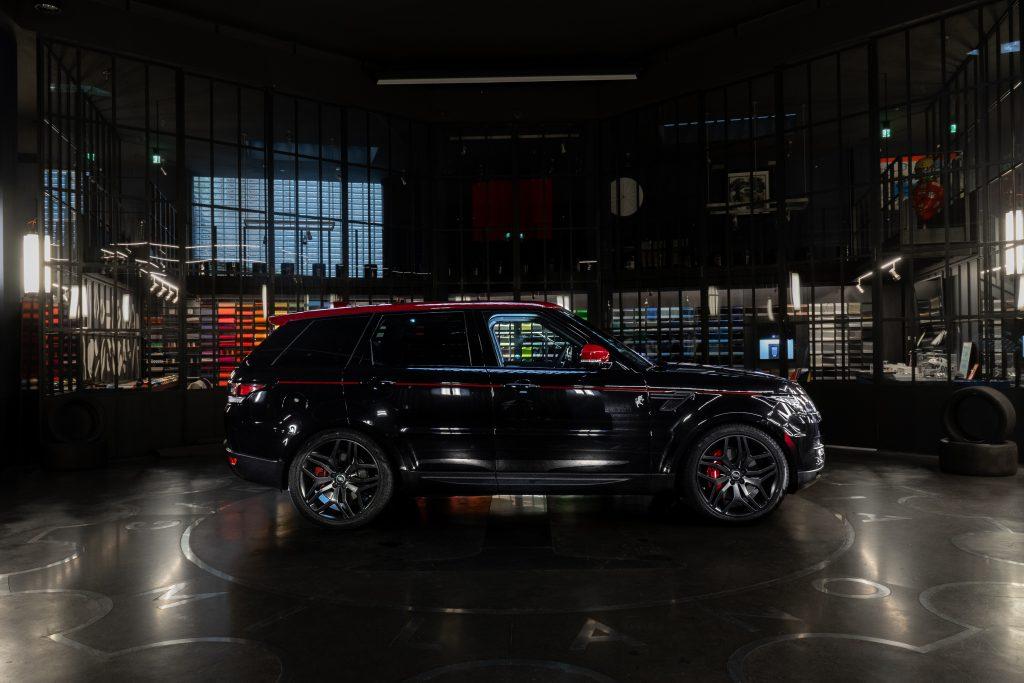 Range rover jeep garage italia torino limited edition