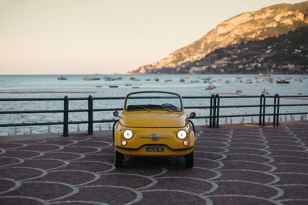 GARAGE ITLIA Spiaggina gialla hertz costa amalfitana MARE