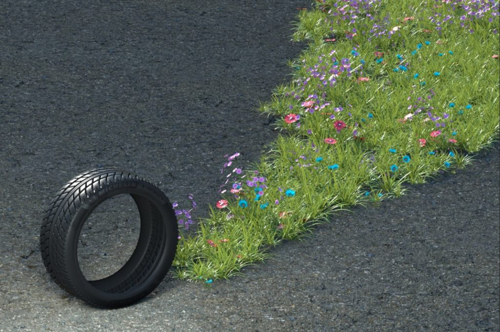 michelin_e.primacy_wheel_green_eco_friendly_flowers