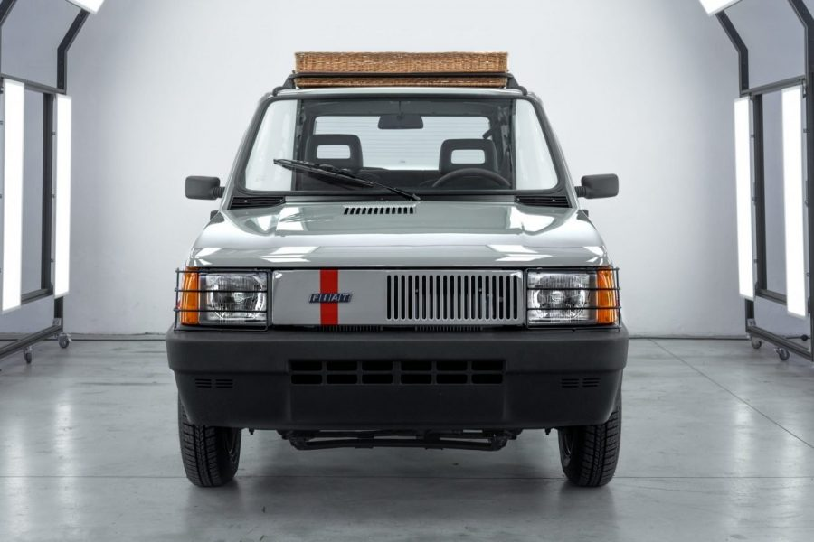 Pand'art Arthur Kar Garage Italia panda 4x4 front fiat