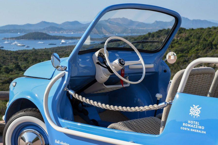 spiaggina 500 jolly icon-e garage italia Costa Smeralda