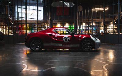 Alfa Romeo 4C Livrea Garage Italia