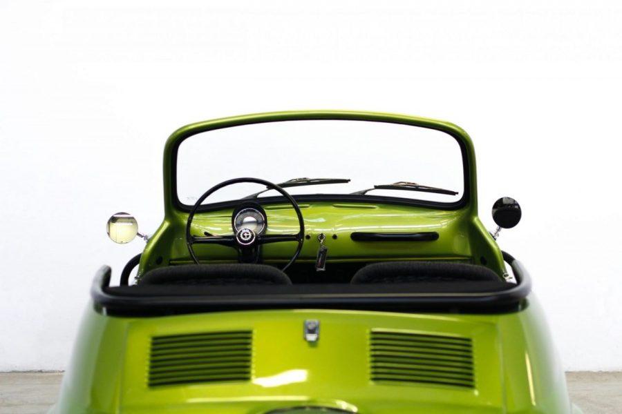 Fiat 500 jolly icon-e garage italia green lime